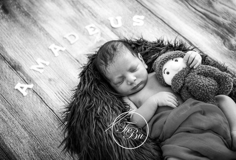 Baby in Körbchen Tütü Fotografie Weilheim Bissingen Wendlingen Ebersbach Plochingen