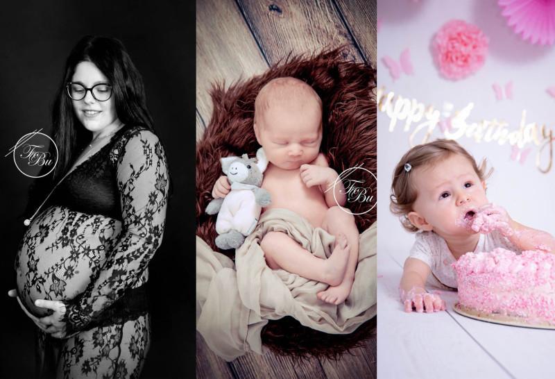 Familie Baby Schwangerschaft Neugeboren